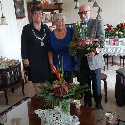 Henk en Annie 60 jaar getrouwd