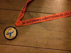 Weeg/wedstrijdtijd 3e JVIJ Dames judotoernooi 2017