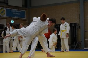 Randori-training op 25 oktober