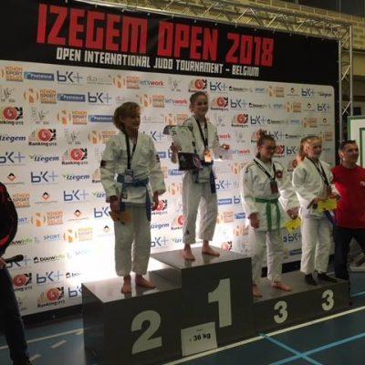 Mooie resultaten voor JVIJ Izegem in België