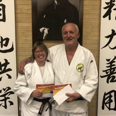 Pauline en Ferry ontvangen koninklijke onderscheiding