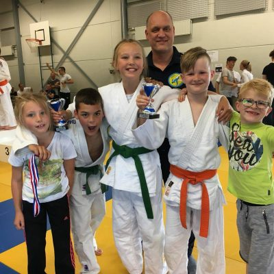 Topprestaties van JVIJ judoka's in Almere