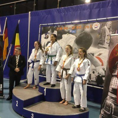 Romy en Zoë behalen 3e plaats op Espoir