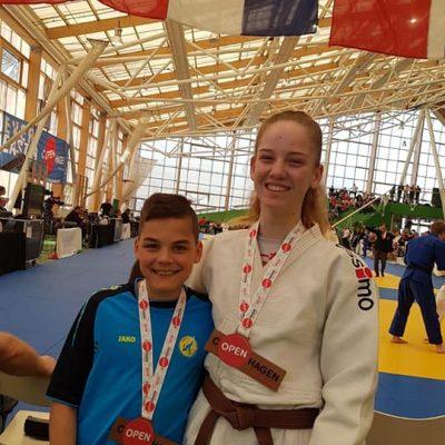 JVIJ judoka's in Kopenhagen