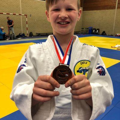 Wisselende resultaten JVIJ judoka's bij het 30e Lentetoernooi in Wehl.