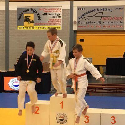 DT-12 judotoernooi te Ede