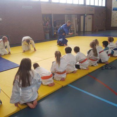 Judoclinics van JVIJ