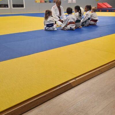 Judoclinic kleuters tijdens NSW